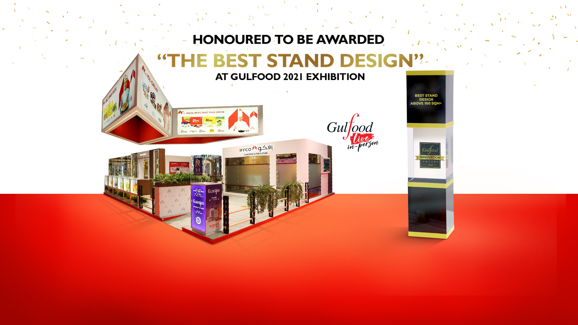 IFFCO honoured with the 'Best Stand Award' at the Gulfood 2021 Exhibition