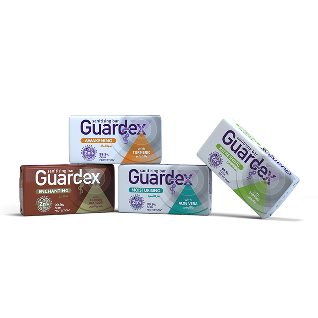 Guardex Sanitising Bar Soap