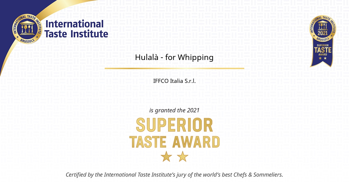 Hulalà - for Whipping certificate
